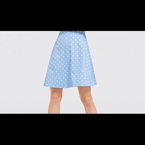 Draper James Rare Polka Dot Skirt 6